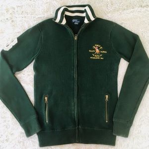 Polo Sweater Jacket